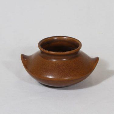 Arabia Ruska vase, brown, Ulla Procope