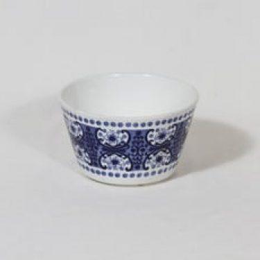 Arabia Ali kulho, sininen, suunnittelija Raija Uosikkinen, pieni, kuparipainokoriste
