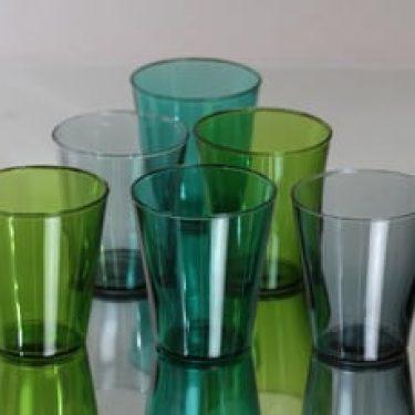 Nuutajärvi Viola lasit, 20 cl, 6 kpl, suunnittelija Kaj Franck, 20 cl
