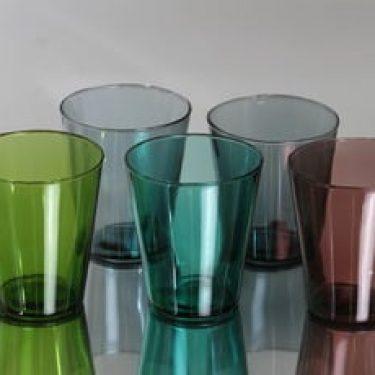 Nuutajärvi Viola lasit, 20 cl, 5 kpl, suunnittelija Kaj Franck, 20 cl