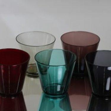 Nuutajärvi Kartio lasit, 13 cl, 5 kpl, suunnittelija Kaj Franck, 13 cl