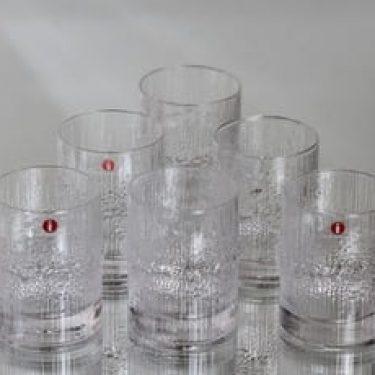 Iittala Niva lasit, 10 cl, 6 kpl, suunnittelija Tapio Wirkkala, 10 cl