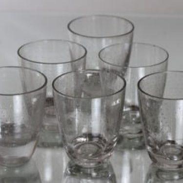 Nuutajärvi Pore lasit, 15 cl, 6 kpl, suunnittelija Gunnel Nyman, 15 cl