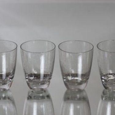 Nuutajärvi Pore lasit, 12 cl, 4 kpl, suunnittelija Gunnel Nyman, 12 cl