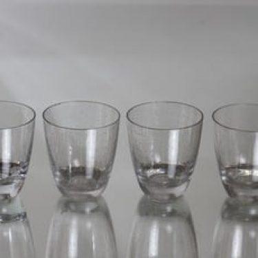 Nuutajärvi Pore lasit, 10 cl, 4 kpl, suunnittelija Gunnel Nyman, 10 cl