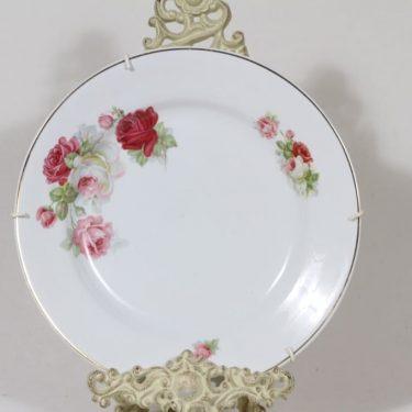 Arabia E lautanen, kukkakuvio, suunnittelija , kukkakuvio, siirtokuva
