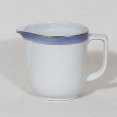Arabia Sinivalko kaadin, 0.75 l, suunnittelija , 0.75 l, raitakoriste, kultaus
