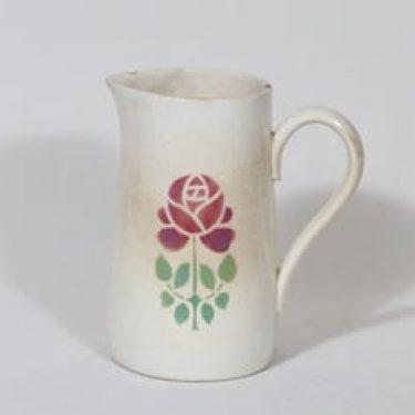 Arabia kukkakuvio kaadin, 1 l, suunnittelija , 1 l, puhalluskoriste, jugend, kukkakuvio