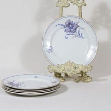 Arabia kukkakuvio lautaset, pieni, 5 kpl, suunnittelija , pieni, serikuva, pieni