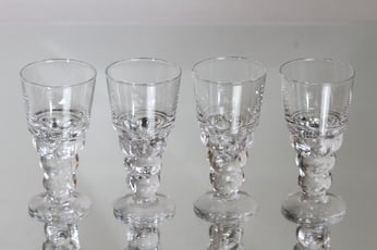 Nuutajärvi Mukura / Paratiisi glasses, 10 cl, 4 pcs, Oiva Toikka