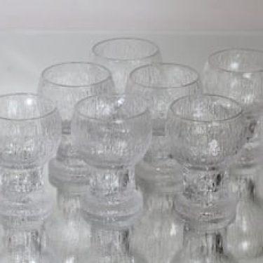 Iittala Kekkerit Paukku lasit, 11 cl, 7 kpl, suunnittelija Timo Sarpaneva, 11 cl