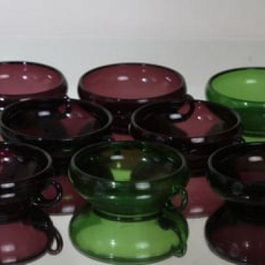 Kumela jälkiruokakulhot, eri värejä, 8 kpl, suunnittelija ,