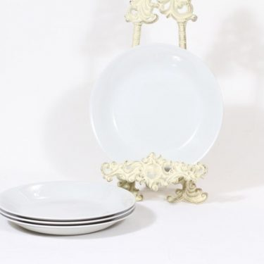 Arabia X lautaset, 4 kpl, 4 kpl, suunnittelija , 4 kpl, koristelematon