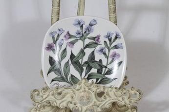 Arabia Botanica koristelautanen, Rohtoimikkä, suunnittelija Esteri Tomula, Rohtoimikkä, pieni, serikuva
