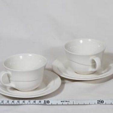 Arabia Tuuli kahvikupit, valkoinen, 2 kpl, suunnittelija ,