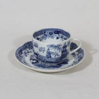 Arabia Singapore kahvikuppi, sininen, suunnittelija ,