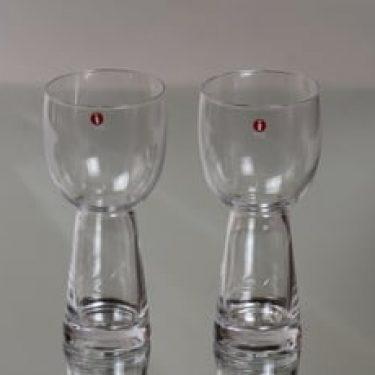 Iittala Uuma lasit, 38 cl, 2 kpl, suunnittelija Irina Viippola, 38 cl