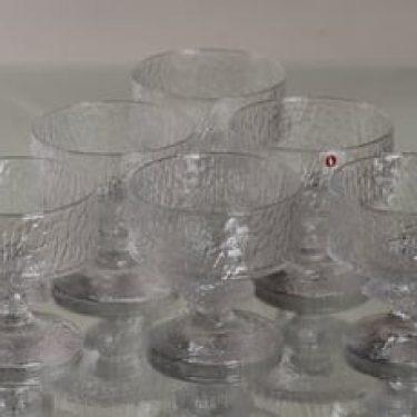 Iittala Senaattori cockail-lasit, kirkas, 6 kpl, suunnittelija Timo Sarpaneva,