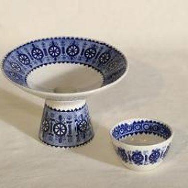 Arabia Antica kynttilänjalat, 2 kpl, suunnittelija Svea Granlund,