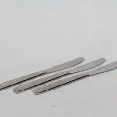 Hackman Scandic veitset, teräs, 3 kpl, suunnittelija Kaj Franck, teräs
