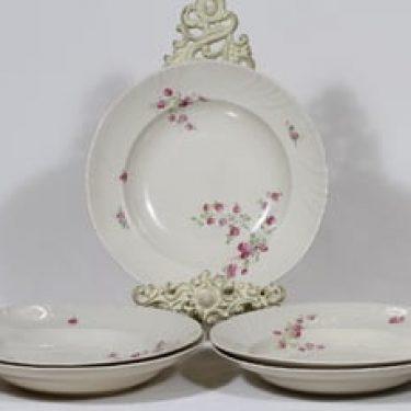 Arabia Pikkuruusu lautaset, 5 kpl, suunnittelija , siirtokuva