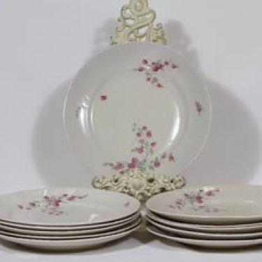 Arabia Pikkuruusu lautaset, 11 kpl, suunnittelija , siirtokuva