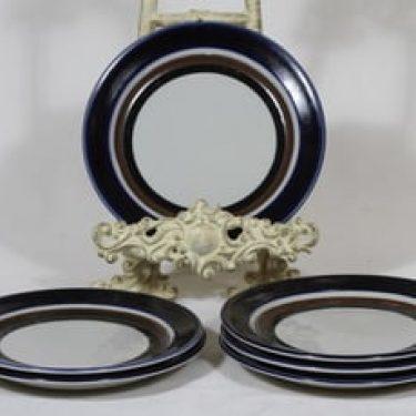 Arabia Saara lautaset, pieni, 6 kpl, suunnittelija Anja Jaatinen-Winquist, pieni, erikoiskoriste