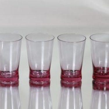 Riihimäen lasi Milano lasit, 18 cl, 4 kpl, suunnittelija Sakari Pykälä, 18 cl