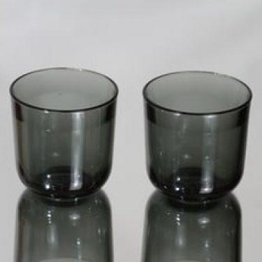 Nuutajärvi Fasetti lasit, 20 cl, 2 kpl, suunnittelija Kaj Franck, 20 cl