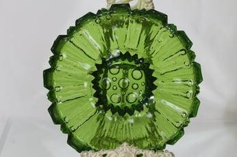 Humppila Tokka kulho, vihreä, suunnittelija Tauno Wirkkala,