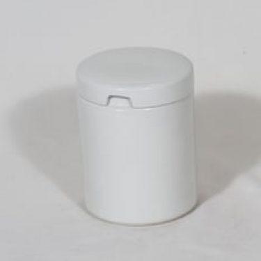 Arabia AK purkki, valkoinen, suunnittelija , koristelematon