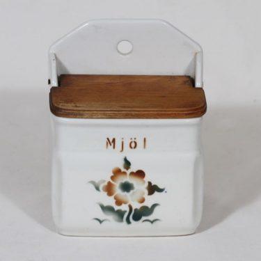 Arabia FA jauhoastia, kukkakuvio, suunnittelija , kukkakuvio, puhalluskoriste