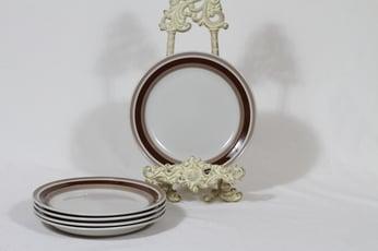 Arabia Pirtti lautaset, pieni, 5 kpl, suunnittelija , pieni, raitakoriste