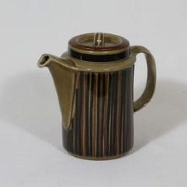 Arabia Kosmos kahvikaadin, 1 l, suunnittelija Gunvor Olin-Grönqvist, 1 l, puhalluskoriste
