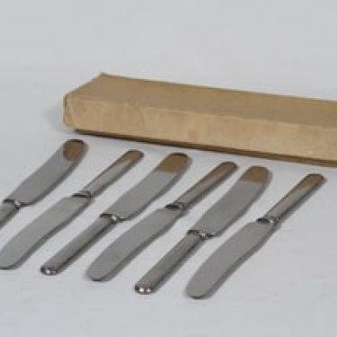 Hackman Sorsakoski veitset, teräs, 6 kpl, suunnittelija , teräs