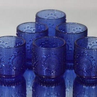 Riihimäen lasi Grapponia lasit, 16 cl, 6 kpl, suunnittelija Nanny Still, 16 cl