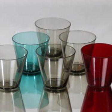 Nuutajärvi Kartio lasit, 10 cl, 6 kpl, suunnittelija Kaj Franck, 10 cl