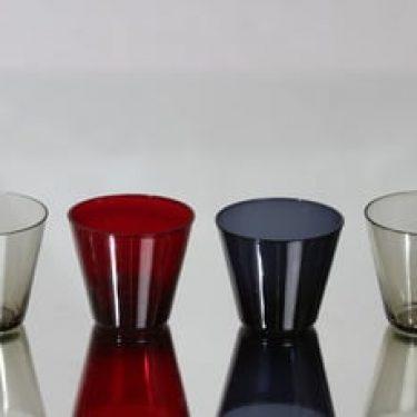Nuutajärvi Kartio lasit, 10 cl, 4 kpl, suunnittelija Kaj Franck, 10 cl