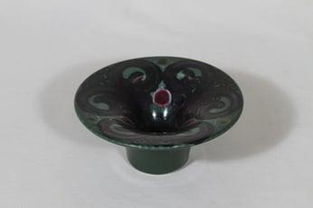 Arabia HLA 120 kynttilänjalka, käsinmaalattu, suunnittelija Hilkka-Liisa Ahola, käsinmaalattu, signeerattu