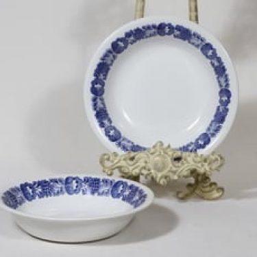 Arabia Ilmarinen lautaset, syvä, 2 kpl, suunnittelija , syvä, serikuva