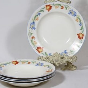 Arabia koriste P33-36 lautaset, syvä, 5 kpl, suunnittelija , syvä, siirtokuva