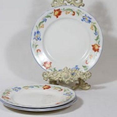 Arabia koriste P33-36 lautaset, matala, 4 kpl, suunnittelija , matala, siirtokuva
