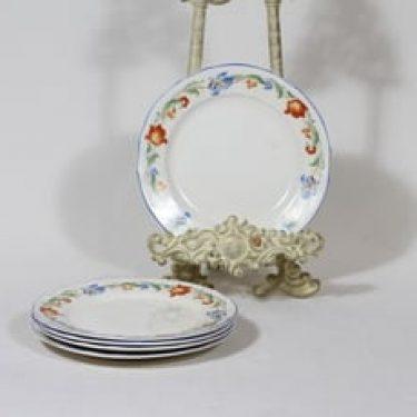 Arabia koriste P33-36 lautaset, pieni, 5 kpl, suunnittelija , pieni, siirtokuva