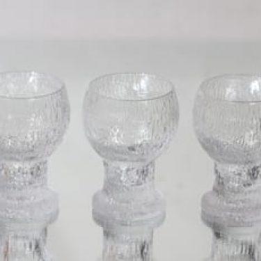 Iittala Kekkerit lasit, 20 cl, 3 kpl, suunnittelija Timo Sarpaneva, 20 cl