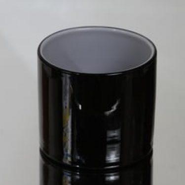 Riihimäen lasi Black and white kulho, musta-valkoinen, suunnittelija Nanny Still,