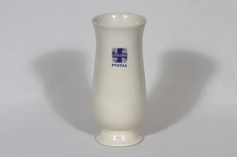 Arabia Lotta-Svärd maljakko, kermanvalkoinen, suunnittelija , painokoriste