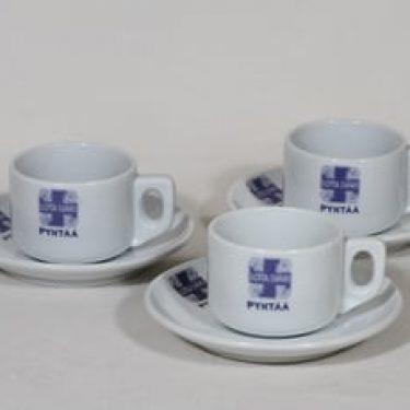 Arabia Lotta-Svärd kahvikupit, 17 cl, 3 kpl, suunnittelija , 17 cl, painokoriste