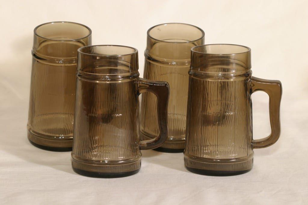Riihimäen lasi lasituopit, 0.5 l, 4 kpl, suunnittelija , 0.5 l