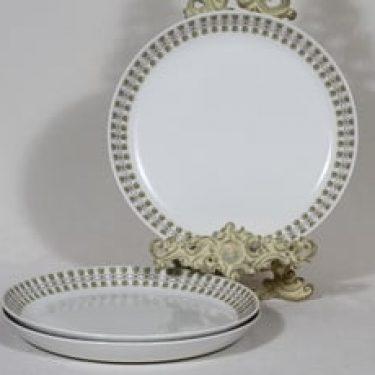Arabia Kielo lautaset, 3 kpl, suunnittelija , serikuva