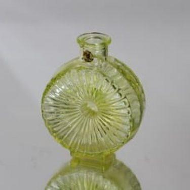 Riihimäen lasi Aurinkopullo koristepullo, koko ¼, suunnittelija , koko ¼, pieni